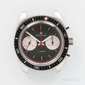 "Hamilton ""Chrono-Diver"" or ""Big-Eye"" Wristwatch"