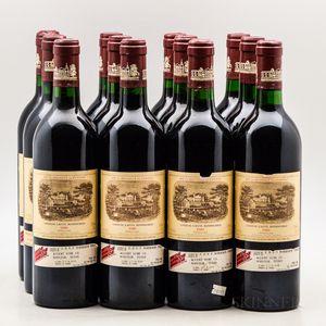 Chateau Lafite Rothschild 1986, 12 bottles