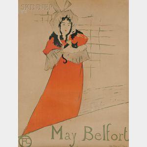 Henri de Toulouse-Lautrec (French, 1864-1901)      May Belfort