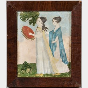 Possibly Betsy B. Lathrop (American, 19th Century)      Study for Japtha's Rash Vow