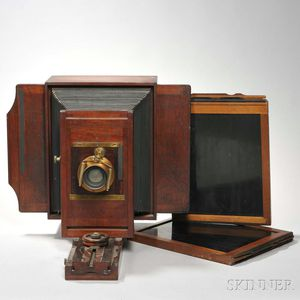 11 x 14 Studio Camera and Two 11 x 14 Film Holders