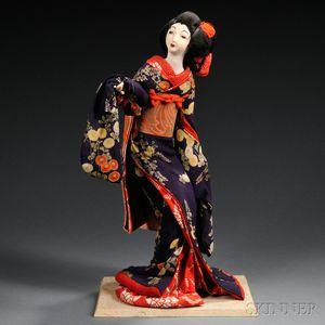 Japanese Costume Doll, Geisha or Bijin
