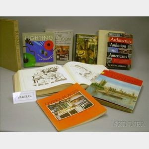 Collection of Approximately Sixty-four Architecture, Design, and Antiques Reference Books.