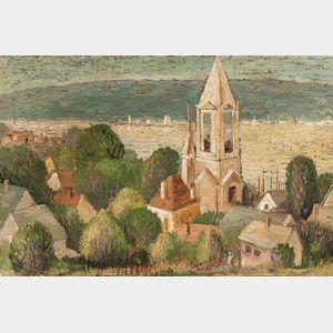Frank Knox Morton Rehn (American, 1848-1914)      Gloucester, Mass