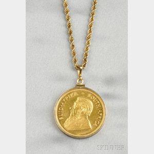 1977 1 oz. Fine Gold Krugerrand