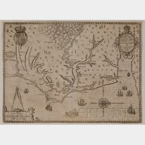 Sold for: $13,035 - (Maps and Charts, North America, Virginia)