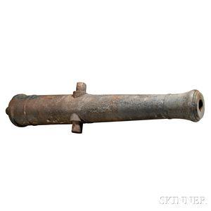 Cast Iron Napoleonic Cannon