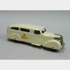 Wyandotte Pressed-Steel Ambulance
