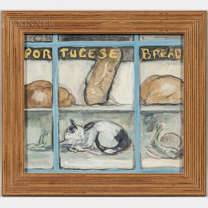 Dorothy Churchill Wyman (American, 1899-1993)      Portuguese Bakery, Provincetown