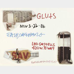 Robert Rauschenberg (American, 1925-2008)      Gluts