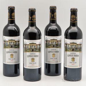 Chateau Leoville Barton 2005, 4 bottles
