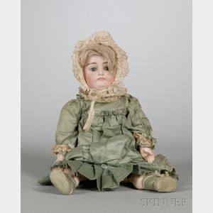 Early Kestner Closed Mouth Bisque Doll