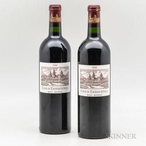 Chateau Cos dEstournel 2006, 2 bottles