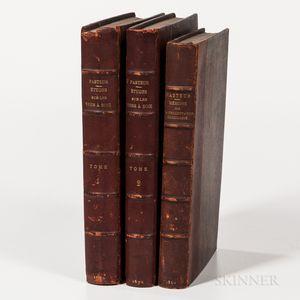 Pasteur, Louis (1822-1895) Memoire sur la Fermentation Alcoolique [bound with] Examen Critique dun Ecrit Posthume de Claude Bernard su