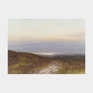 Frederick John Widgery (British, 1861-1942)  The Sprawling Countryside