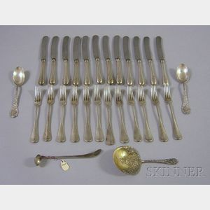Group of Silver Tableware and Other Decorative Items