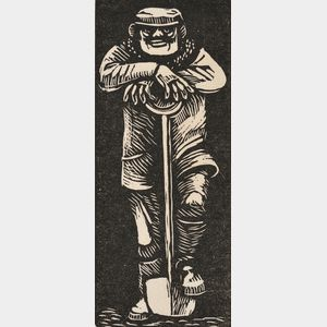 Gerhard Marcks (German, 1889-1981)      Man with Shovel