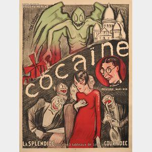 René Gaillard (French, 19th/20th Century)      Cocaine