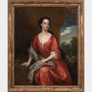 Sir Godfrey Kneller (British, 1646-1723)      Portrait of Meliora Fitch, later Mrs. Portman