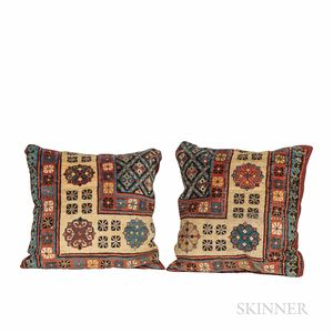 Pair of Pillows from a Talish Rug
