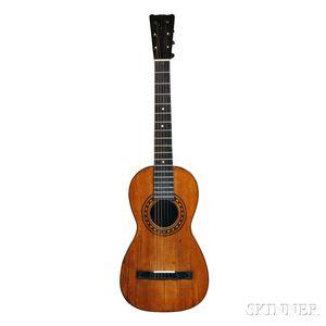 Romantic Guitar, Attributed to Agustin Altimira, c. 19th Century