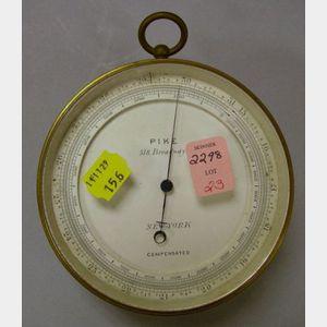 Pike Brass Barometer