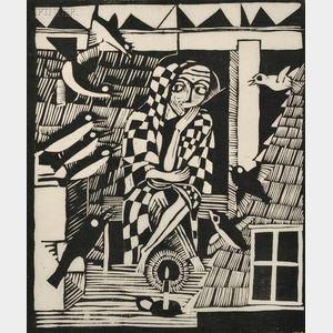 Gerhard Marcks (German, 1889-1981)      Die Eule