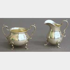 Fisher Sterling Silver Sugar and Creamer