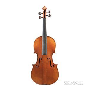 French Violin, Mirecourt, c. 1920