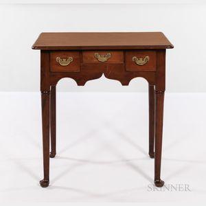 Diminutive Queen Anne Cedar Dressing Table