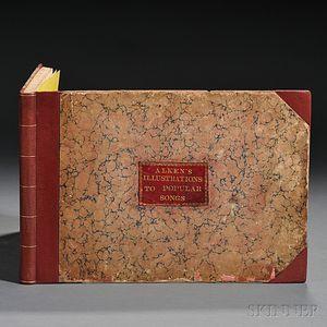 Alken, Henry Thomas (1785-1851) Illustrations to Popular Songs.
