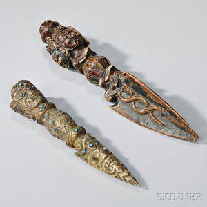 Two Phurba   Daggers