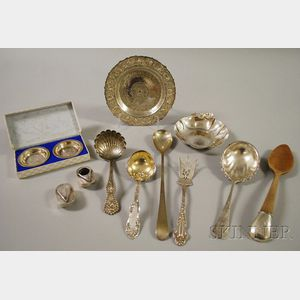 Group of Assorted Silver Flatware and Tableware
