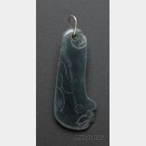 Pre-Columbian Jade Pendant