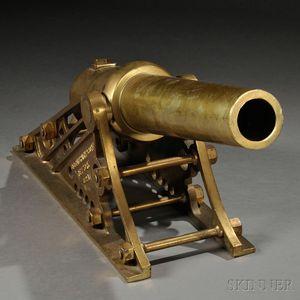 Galbraith & Son Bronze Life Saving Cannon
