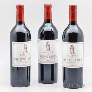 Chateau Latour 2005, 3 bottles