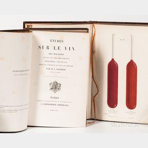 Pasteur, Louis (1822-1895) Etudes sur le Vin ses Maladies Causes qui les Provoquent Procedes Nouveaux.