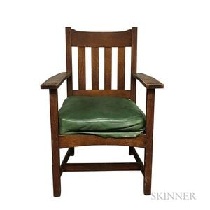 Charles Stickley Armchair