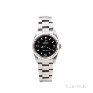 Rolex Explorer Reference 14270 Wristwatch with Paperwork