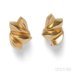 14kt Gold Earclips