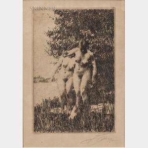Anders Zorn (Swedish, 1860-1920)      Alder