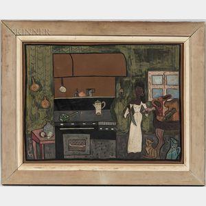 Rosalea Murphy (American, 1991-2000)      Kitchen Interior