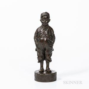 C'est Mi!..   Bronze Sculpture After Felix Pardo de Tavera (French, 1859-1932)
