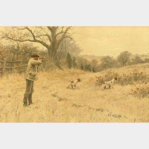 Arthur Burdett Frost (American, 1851-1928)  Lot of Five Hunting Prints