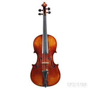German Violin, Jurgen Johannes Schroder, Frankfurt, 1951