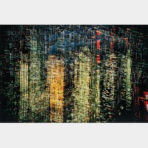 Ernst Haas (Austrian/American, 1921-1986)      Lights of New York City