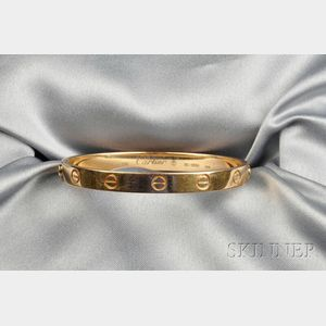 "18kt Gold ""Love"" Bracelet, Cartier"