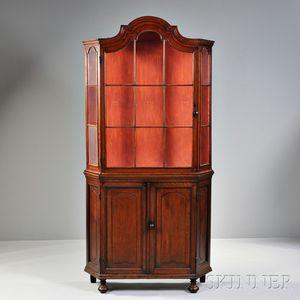 Baroque-style Glazed Cabinet