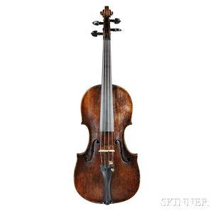 Austrian Violin, Viennese School, c. 1780