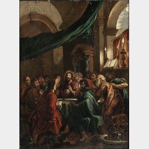 Adrianus van Kilsdonk (Dutch, b. 1754)      The Last Supper